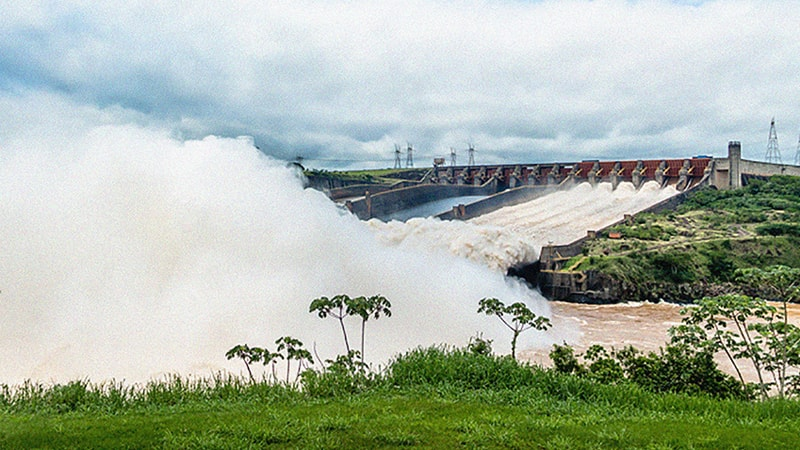 An image of a hydropower plant